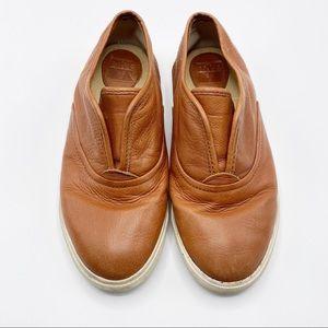 Frye Maya CVO Slip-On Sneaker, Cognac,